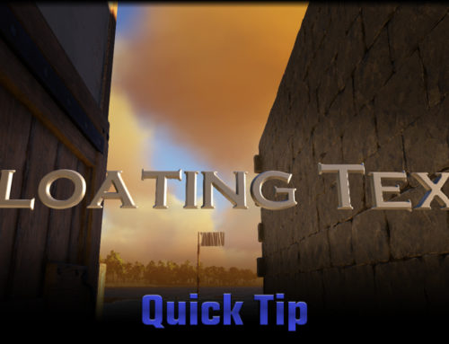 Atlas Quick Tip: Floating Text